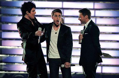 Kris Allen's Look Of Shock At 'Idol' Win (FOX TV/The Cabin)