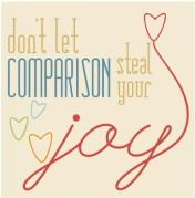 dont let comparasion
