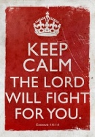 god will fight for you