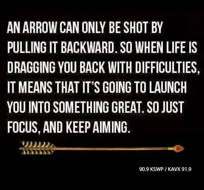 an-arrow