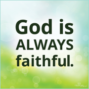 God isfaithful