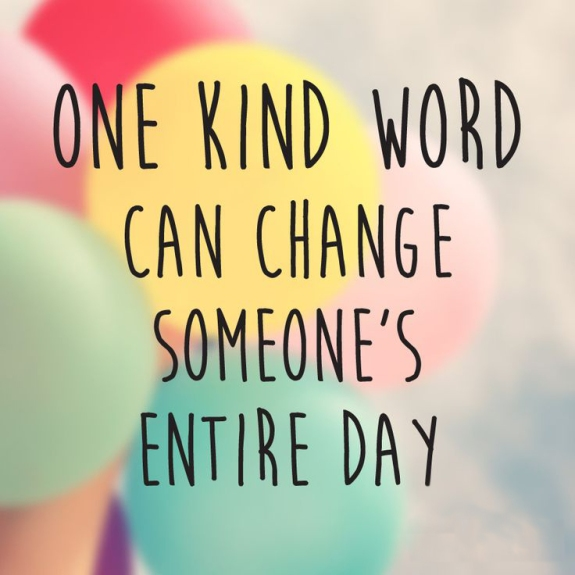 OneKindWordCanChangeSomeonesEntireDay