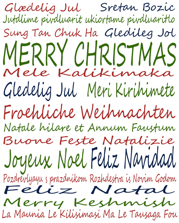 Merry Christmas In Different Languages.Merry Christmas In Many Languages Goodfriends Blog