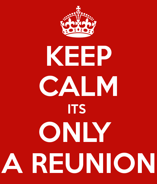 The Great Things About Reunions