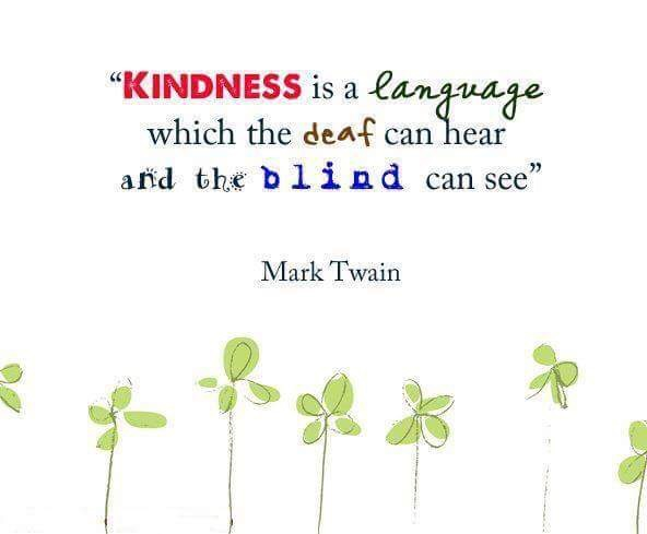 Kindness Communicates