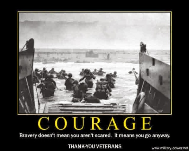 D-Day EnCOURAGEment