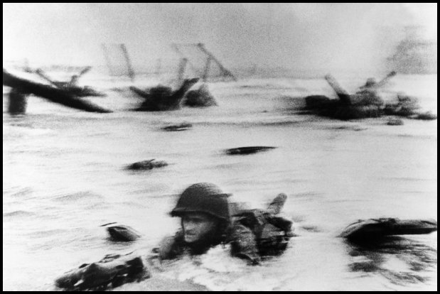 D-Day in Photo's