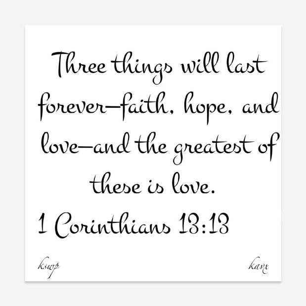 Three Things LastForever