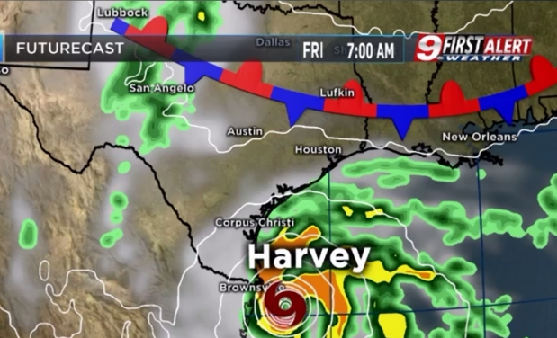 Harvey Likely Not Affecting East Texas
