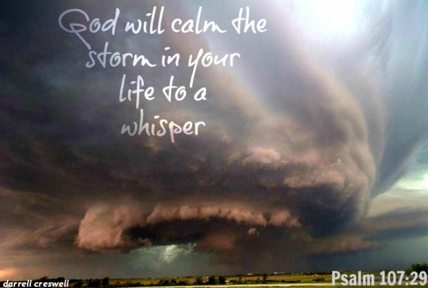 Words from God about Storms