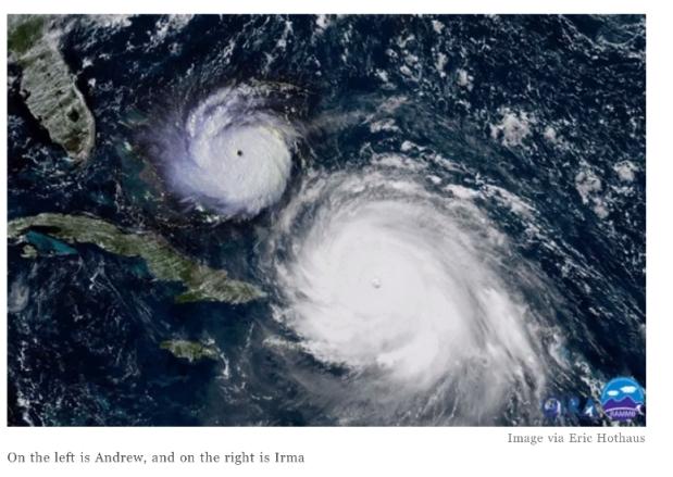 Mighty Irma vs DestructiveAndrew