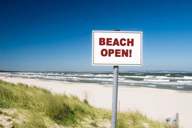 Ocean-Isle-Beach-Reopens-Beach