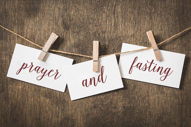 prayer fasting